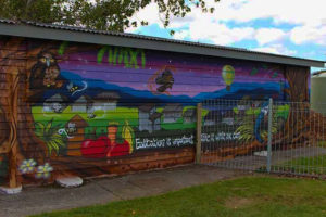 Hutt youth mural