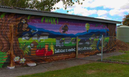 Hutt Youth Add A New Mural To City's Growing Collection