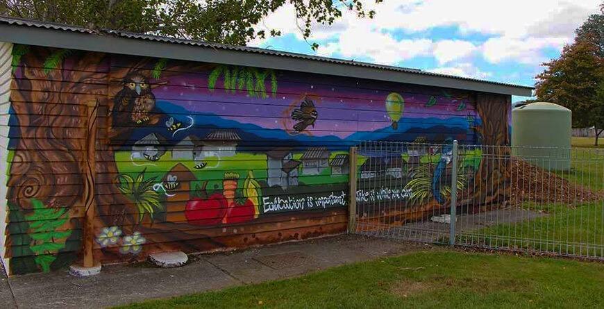 Hutt youth mural
