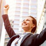 Woman success